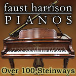Faust Harrison 100+ Steinway pianos