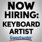 Sweetwater Hiring Keyboard Player