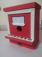 Upright Piano Bird House