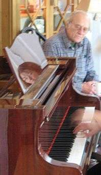 Terry (PW Terrytunes) became one with the piano...