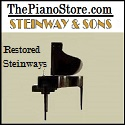 the Piano Store - Restored Steinway Pianos