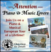 Join the Piano Lovers Tour!