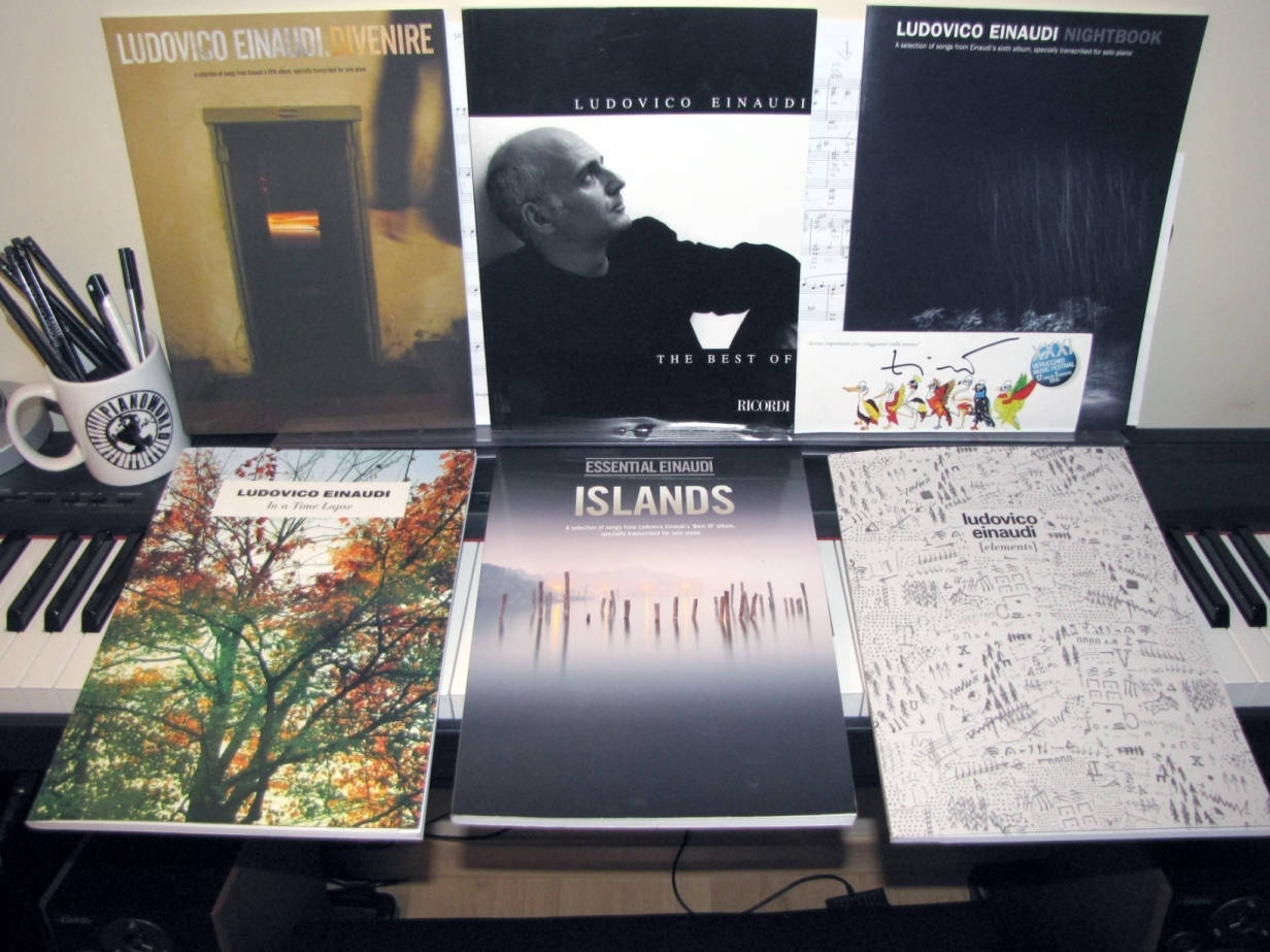 Instruction Books, Cds & Video Keyboard & Piano Confident Ludovico Einaudi The Piano Collection Vol 1 Sheet Music Book Price Remains Stable
